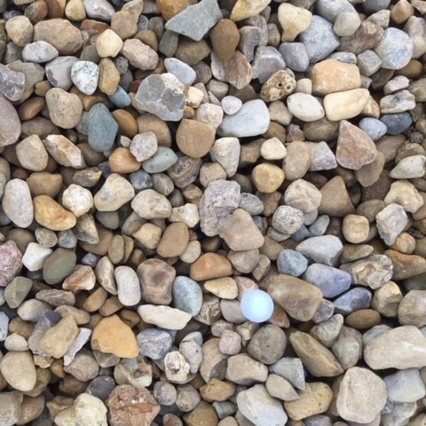 Raw Feed River Gravel