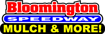 Bloomington Speedway Mulch & More Logo
